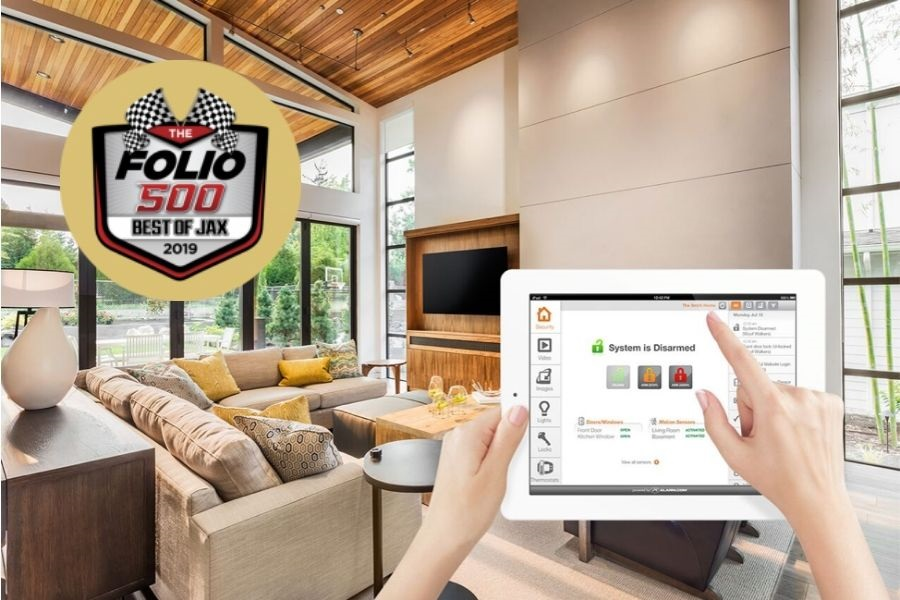 Atlantic Security Is Folio Weekly's Best Home Security Provider!